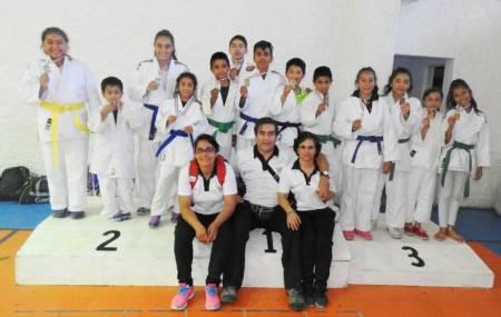 Judocas hidalguenses consiguen 24 medallas en el naci