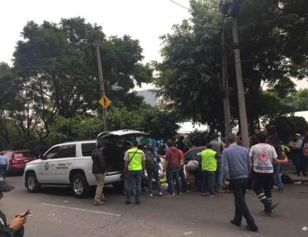 La Delegación de PGR en Hidalgo dona alimentos y medicina a los damnificados del sismo de la Ciudad de México