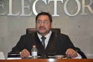Manuel Alberto Cruz rinde segundo informe al frente del TEEH