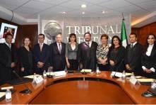 Manuel Alberto Cruz rinde segundo informe al frente del TEEH2