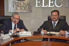 Manuel Alberto Cruz rinde segundo informe al frente del TEEH4