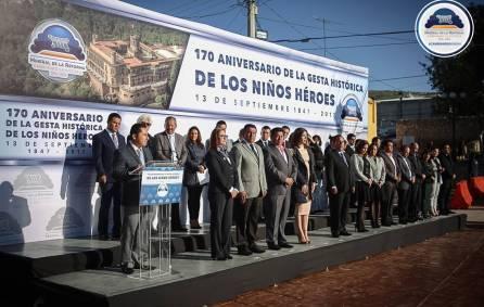 Mineral de la Reforma conmemora el 170 Aniversario de la Gesta Heroica de los Niños Héroes3