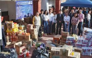 Mineral de la Reforma se solidariza con 5 municipios de Puebla, tras sismo2