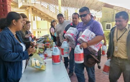 Mineral de la Reforma se solidariza y abre  centros de acopio1.jpg
