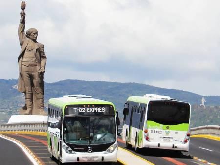 Para mejorar movilidad de usuarios, el servicio exprés de Tuzobús modifica sus paradas en distintos horarios2
