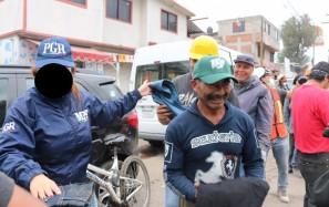 PGR Hidalgo dona a personas damnificadas ropa incautada por violación a la Ley Federal de Propiedad Industrial