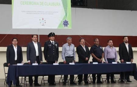 Policías Municipales de Tizayuca concluyen satisfactoriamente cursos de capacitación1