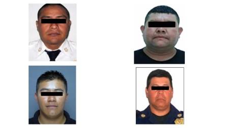 Por el delito de homicidio doloso, cuatro policías municipales fueron vinculados a proceso