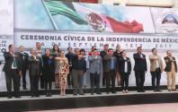 Preside Raúl Camacho Baños, acto cívico por 207 Aniversario de la Independencia de México1