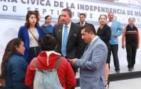 Preside Raúl Camacho Baños, acto cívico por 207 Aniversario de la Independencia de México3