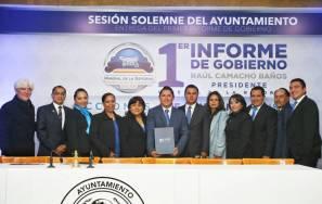 Raúl Camacho Baños presenta su primer informe de gobierno 3