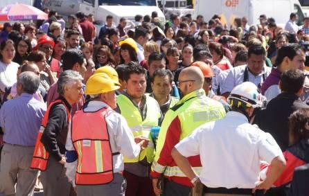 Realizan simulacro de alerta sísmica en Palacio de Gobierno1