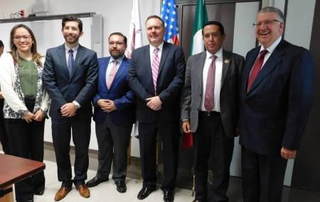 Recibe Prepa 1 a vicecónsules de Embajada de Estados Unidos1