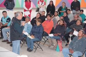 Refuerza Velasco Orozco apoyo a organizaciones campesinas