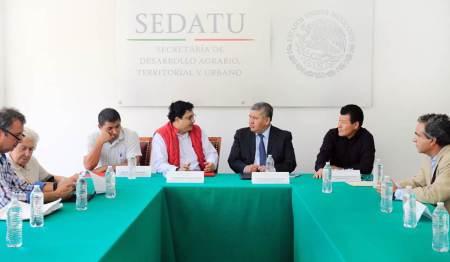 Sedatu Delegación Hidalgo gestiona solución de tierras a favor de comuneros de Huejutla