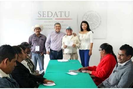 SEDATU Hidalgo brinda apoyo para la vivienda a familias en situación vulnerable