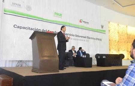 SOPOT realiza curso de Capacitación del Fondo del Servicio Universal Eléctrico