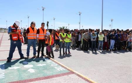 Unidades Politécnicas conmemoran con simulacro el Día Nacional de Protección Civil.jpg