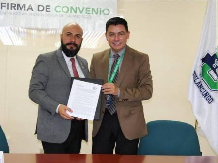 UTEC firma convenio de colaboración con el Club Rotario Metropolitano de Tulancingo1.jpg