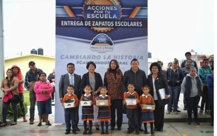 Acciones por tu escuela beneficia a más de 3,600 alumnos de preescolar de Mineral de la Reforma