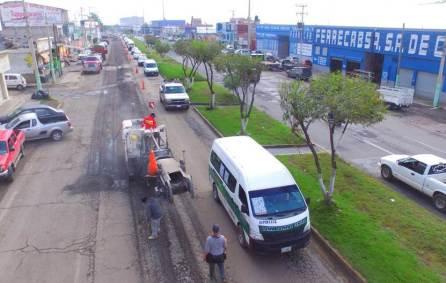 Alerta por obras, pide SOPOT transitar con precaución en bulevares de Pachuca4