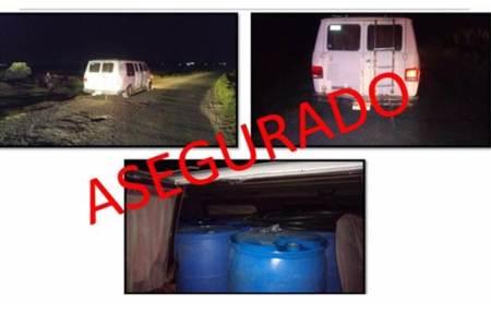 Aseguraron casi 6 mil litros de hidrocarburo y detienen a cuatro personas en la región del Altiplano