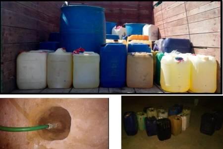 Aseguraron en la región de Sahagún 3 mil 500 litros de hidrocarburo2