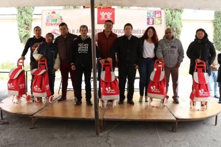 Ayuntamiento de Tizayuca e INFONAVIT entregan Bibliotecas Familiares1