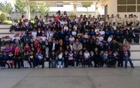 """Bibliotecas de Mineral de la Reforma promueve """"Caravanas Literarias"""" en planteles escolares 1"""
