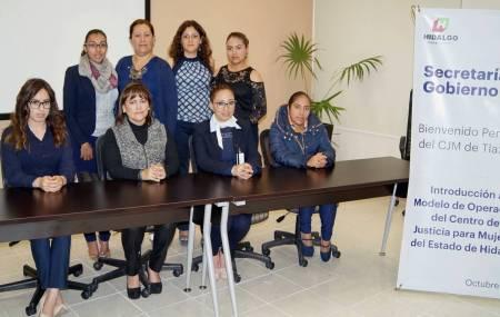 Centro de Justicia para Mujeres del Estado de Hidalgo capacitó a CJM de Tlaxcala2.jpg