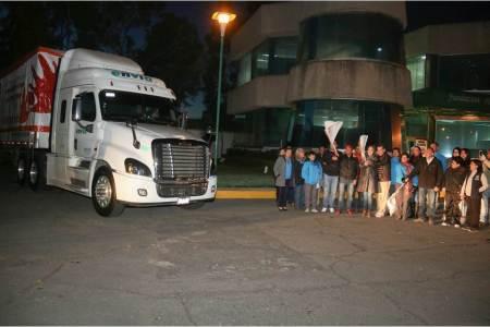 Continúa ayuda de UAEH a damnificados; envía 30 toneladas a Puebla2