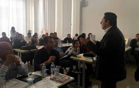 Continúa capacitación a funcionarios municipales para elaboración de PBR en Mineral de la Reforma1