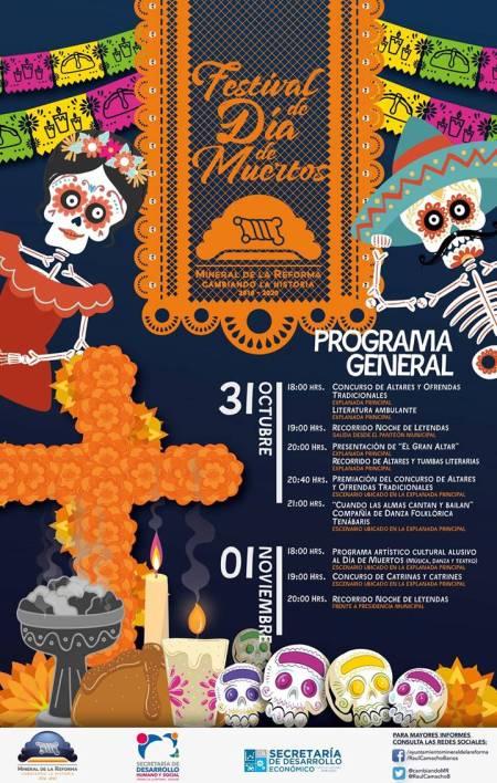 Dia de Muertos Mineral de la Reforma