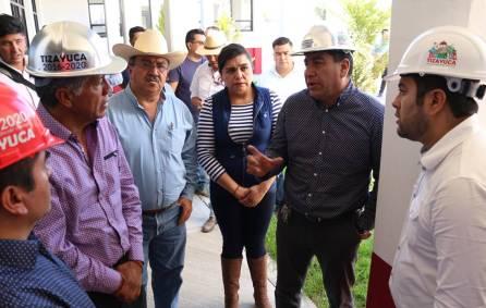 El alcalde y el Subsecretario de Gobierno realizan gira de trabajo en Tizayuca4