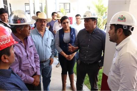 El alcalde y el Subsecretario de Gobierno realizan gira de trabajo en Tizayuca7