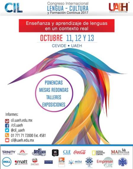 En Puerta, Primer Congreso Internacional de Lengua en UAEH