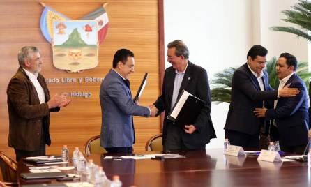 Firman memorándum de entendimiento gobierno de Hidalgo y la FAO en materia alimentaria