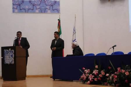 Gerardo Martínez Cristerna imparte conferencia en el ICSa-2