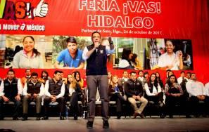 Hidalgo coordina esfuerzos con la federación, en materia de inclusión social1