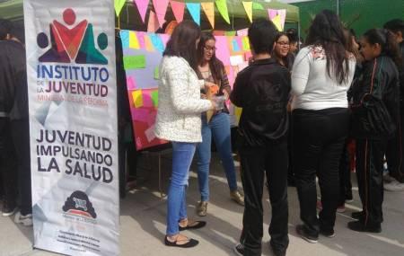 Impulsa IMJ caravana para la prevención de embarazo adolescente en Mineral de la Reforma