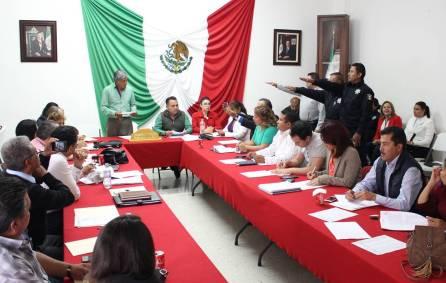 Instalan y toman protesta a los integrantes de la Unidad de Asuntos Internos de la Comisión de Servicio Profesional de Carrera2