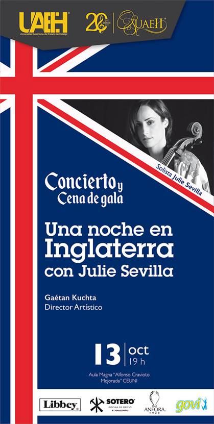 Julie Sevilla Fraysse, en concierto con la Orquesta Sinfónica de la UAEH