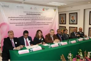 La Secretaría de Gobierno pone en marcha talleres, seminarios y diplomados para la incorporación de la Política Transversal de Perspectiva de Género