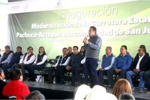 La transformación en Hidalgo continuará, Omar Fayad
