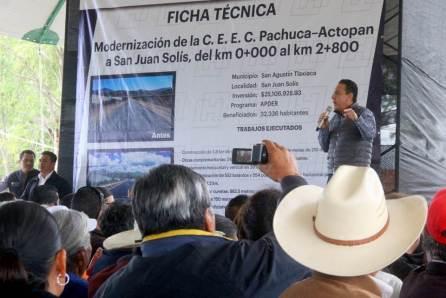 La transformación en Hidalgo continuará, Omar Fayad2