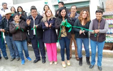 Liconsa inaugura punto de venta en la localidad de Benito Juárez, Mineral del Chico2