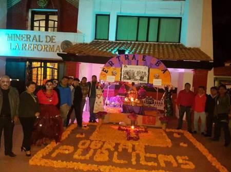 Mineral de la Reforma, invita al rescate del Día de Muertos con concurso de altares y ofrendas tradicionales