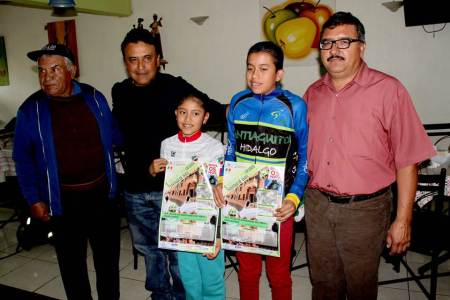 Organizan el tercera fecha del Maratón Ciclista Hidalguense