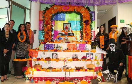 Personal de la STPSH realizó concurso de ofrendas por Día de Muertos1