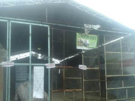 Por no expedir comprobantes fiscales clausuran expendio de materiales de construcción en Atotonilco El Grande
